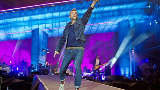 Damon Albarn of Blur