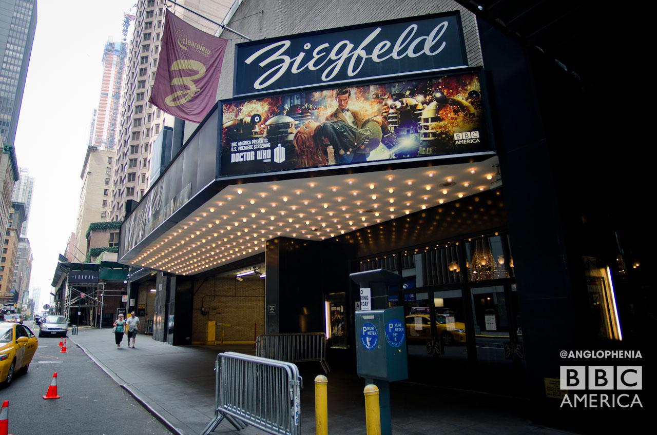 New York City's Ziegfeld Theater. (Photo: Dave Gustav Anderson)