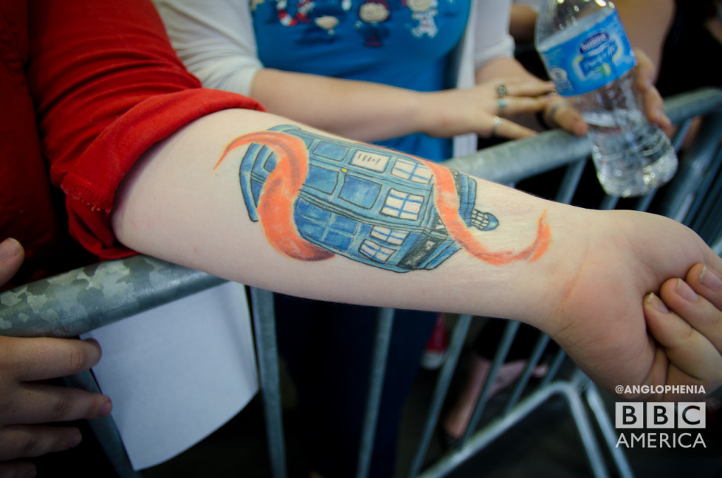 Another impressive 'Doctor Who' tattoo. (Photo: Dave Gustav Anderson)