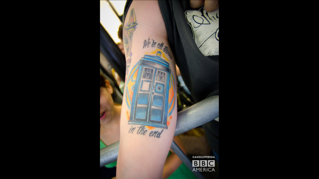 'Doctor Who' ink. (Photo: Dave Gustav Anderson)