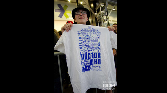 One mega-cool T-shirt. (Photo: Dave Gustav Anderson)