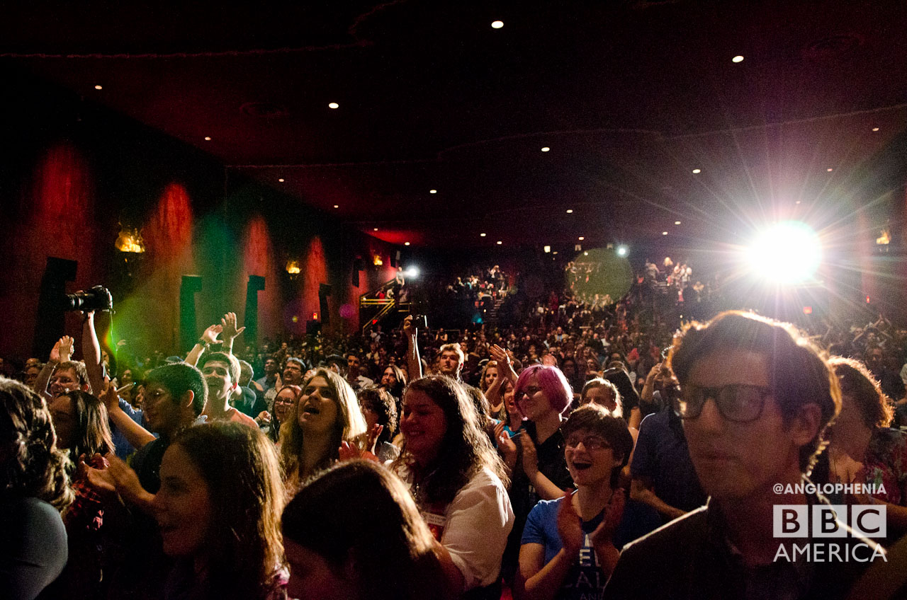 Whovians pack the house. (Photo: Dave Gustav Anderson)