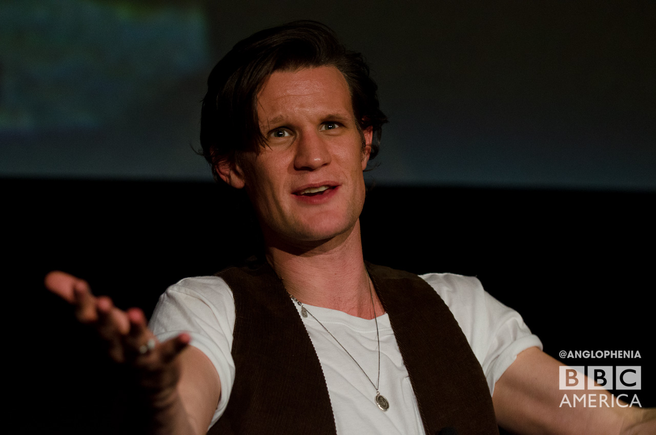 The always dapper Matt Smith. (Photo: Dave Gustav Anderson)
