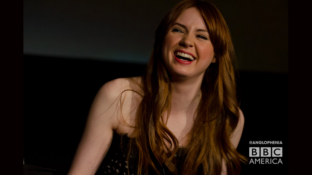 The lovely Karen Gillan. (Photo: Dave Gustav Anderson)