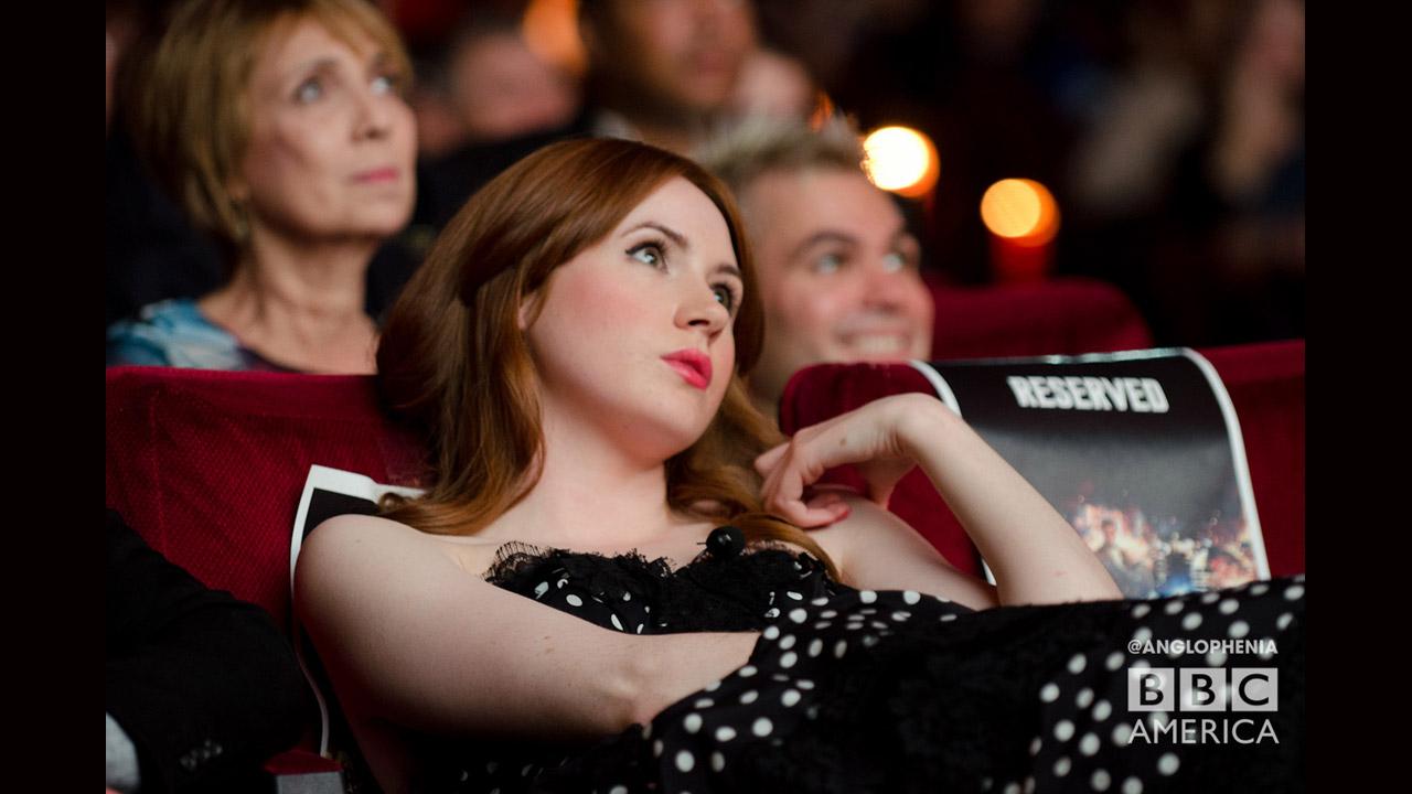 Karen Gillan at the screening of 'Asylum of the Daleks' at the Ziegfeld Theater on Saturday, August 25, 2012. (Photo: Dave Gustav Anderson)