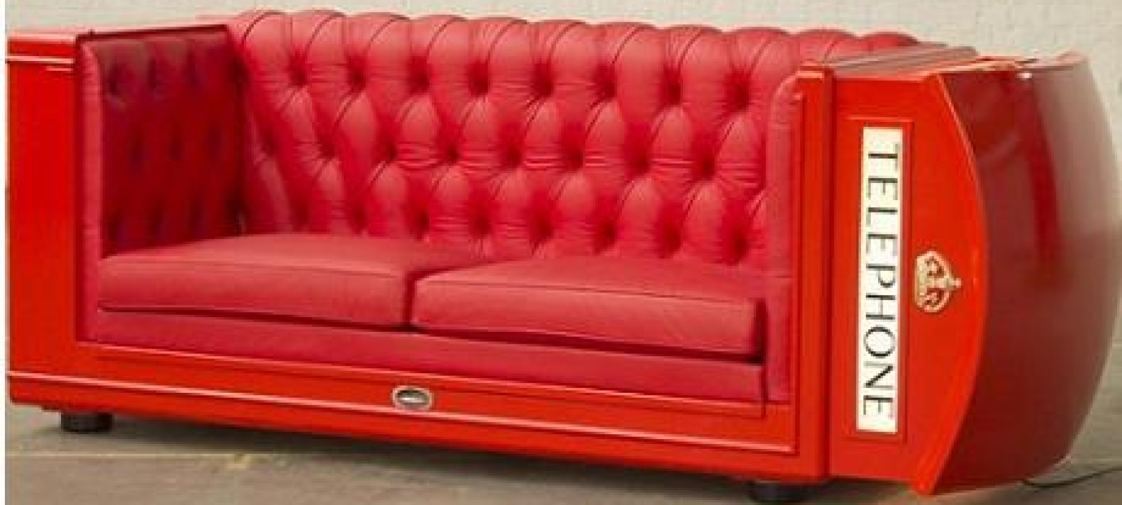 Phone Booth Couch