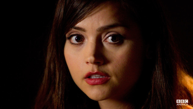 The beautiful Jenna-Louise Coleman as 'Oswin'.