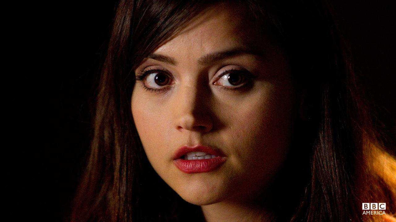 The beautiful Jenna-Louise Coleman as 'Oswin'.