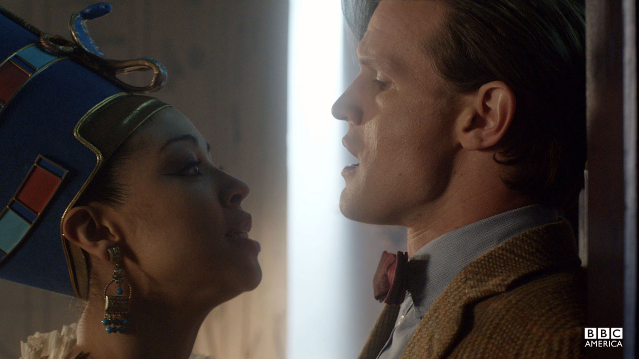 The Doctor and Queen Nefertiti