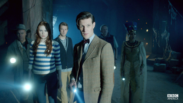 The Doctor and his companions look ahead.
