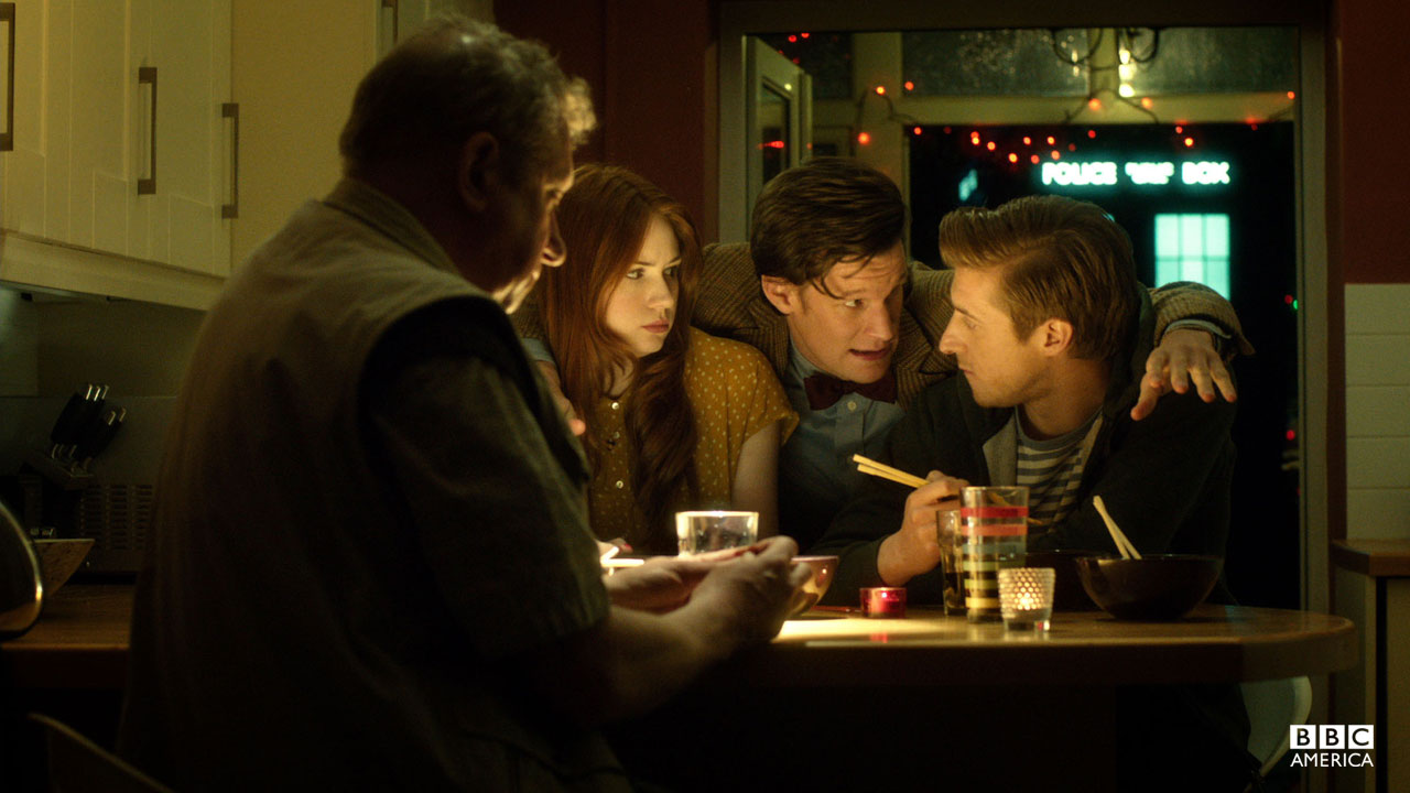 """""""So that was the year of the slow invasion. When the Earth got cubed and the Doctor came to stay. It was also when we realized something the Shakri never understood. What cubed actually means. The Power of Three."""" -Amy Pond (Season 7, Episode 4)"""