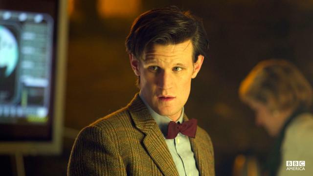 The Doctor looks ahead.