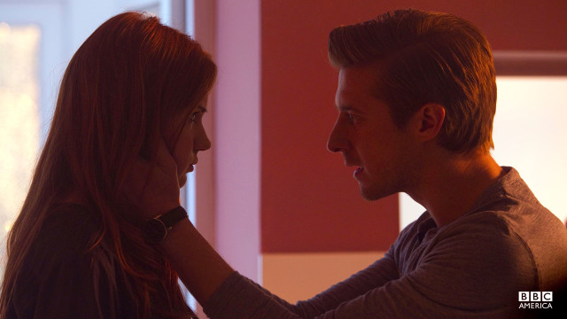 Amy (Karen Gillan) and Rory (Arthur Darvill).