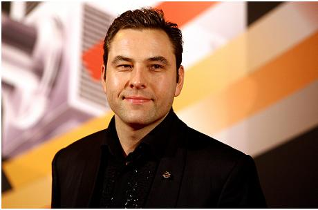 David Walliams swings by the BBC Sports Personality of the Year awards. (Photo via AP)