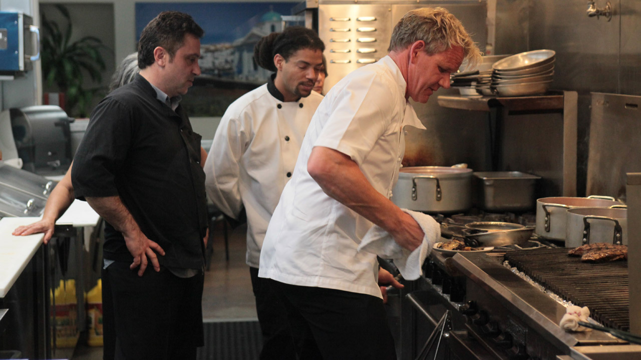 El greco ramsay s kitchen nightmares bbc america for Kitchen nightmares uk