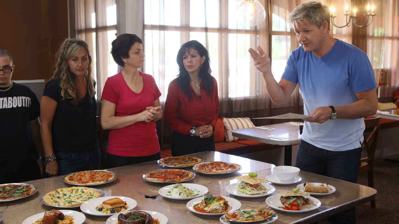 Luigi s d italia ramsay s kitchen nightmares bbc america for Kitchen nightmares full episodes