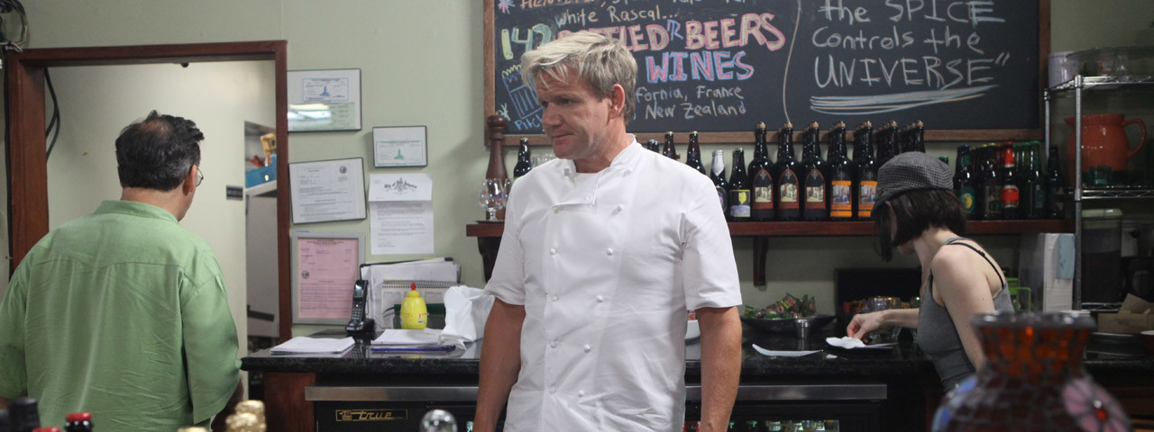 Ramsay s kitchen nightmares bbc america for Kitchen nightmares burger kitchen