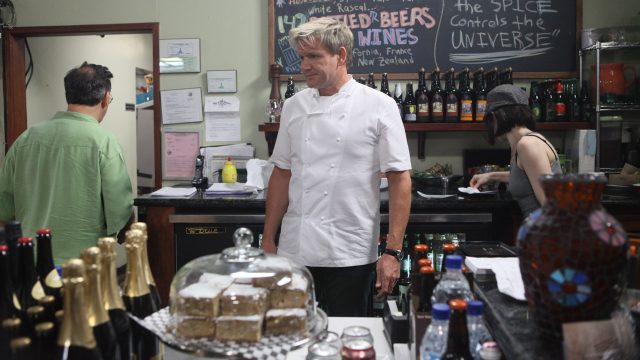 Burger Kitchen Part 2 Ramsays Kitchen Nightmares BBC America