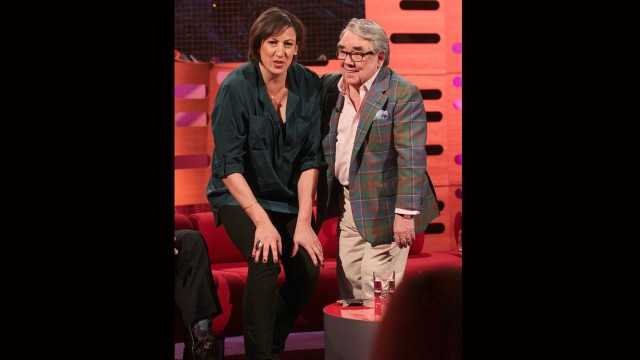 Comedienne Miranda Hart and Scottish funnyman Ronnie Corbett get down to size.
