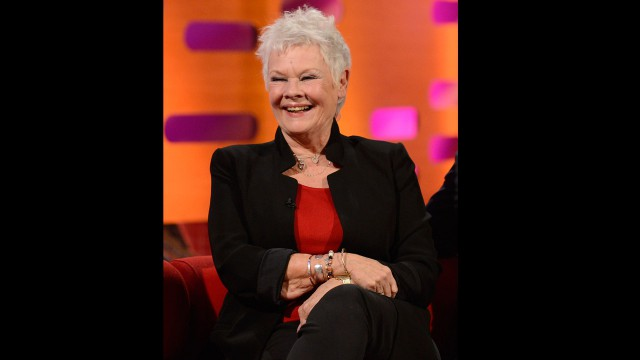 The lovely Dame Judi Dench.
