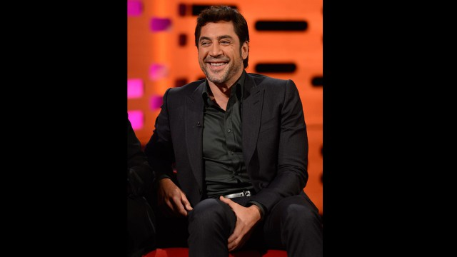 Academy Award-winning actor Javier Bardem.
