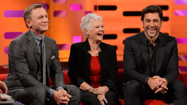 It's fun time on 'The Graham Norton Show.'