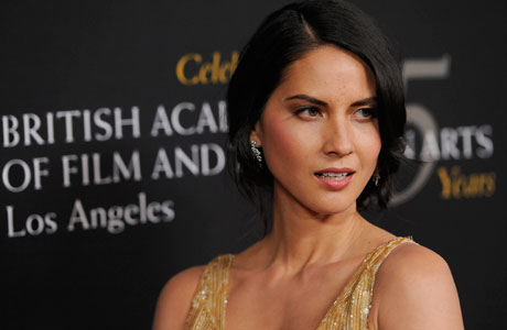 Olivia Munn, presenter for honoree Will Wright. (Photo by Chris Pizzello/Invision/AP)