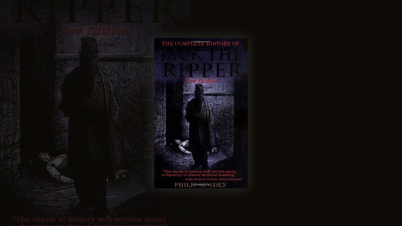 Widely considered to be the finest resource on Britain's most famous serial killer, 'The Complete History of Jack the Ripper' captures every gory detail of the Ripper's victims, including the police investigation and various unique theories.   Click here.