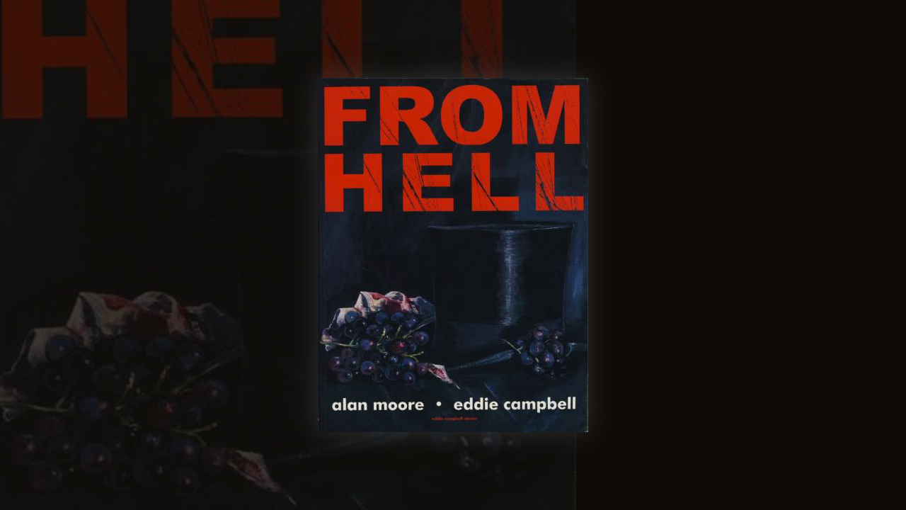 Famed comic book writer Alan Moore takes a stab at his own version of the Jack the Ripper legend in his acclaimed graphic novel 'From Hell.'  He and artist Eddie Campbell explore the theory that the Whitechapel murders may have been part of a larger conspiracy.  Click here.