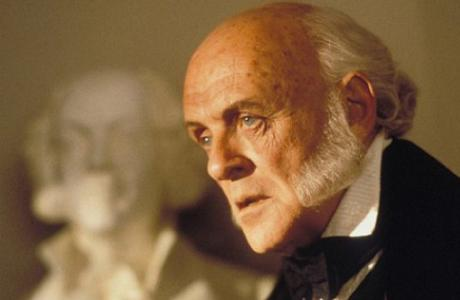 Anthony Hopkins as former President John Quincy Adams in 'Amistad' (1997). (IMDB)