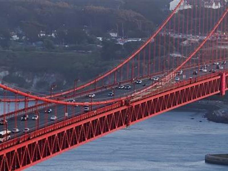 Golden Gate Bridge Paint