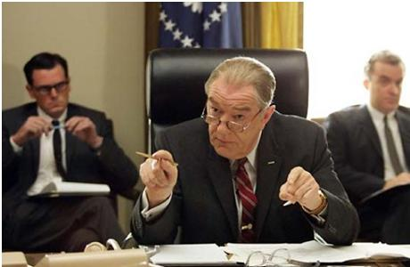 Michael Gambon as Lyndon B. Johnson in 'Path to War' (2002). (SFG)