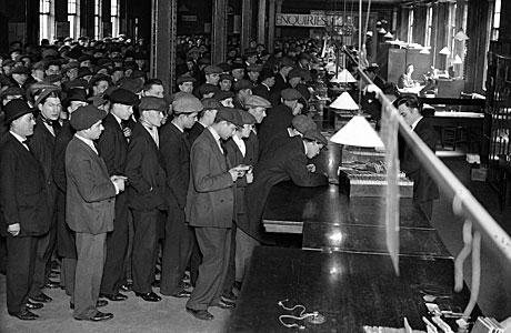 Dole queue