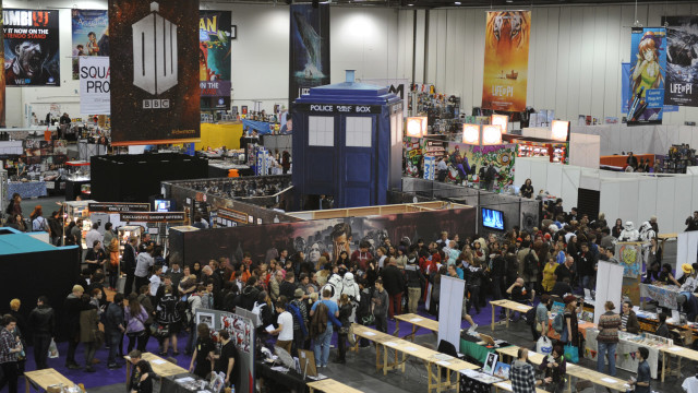 This TARDIS, and the entrance to the 'Doctor Who' stand, was as impressive as it looks.