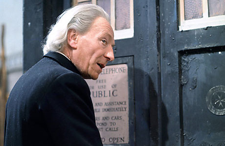 William Hartnell as the First Doctor