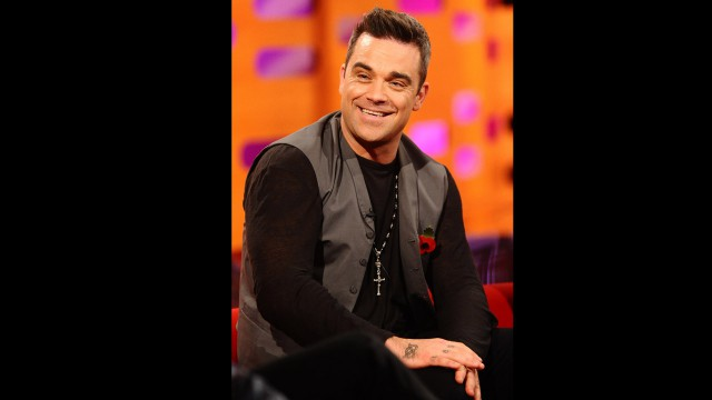 Former Take That troubadour Robbie Williams brings us up to date on life as a dad.