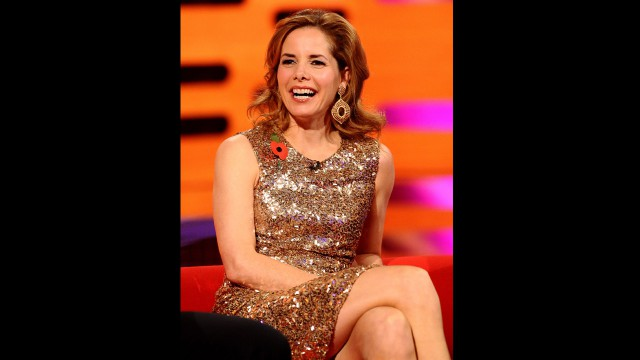 """Strictly Come Dancing"" panelist Darcey Bussell sparkles in bronze during episode 3 of Season 12."