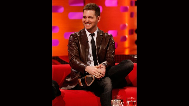 Three-time Grammy-winning crooner Michael Bublé.