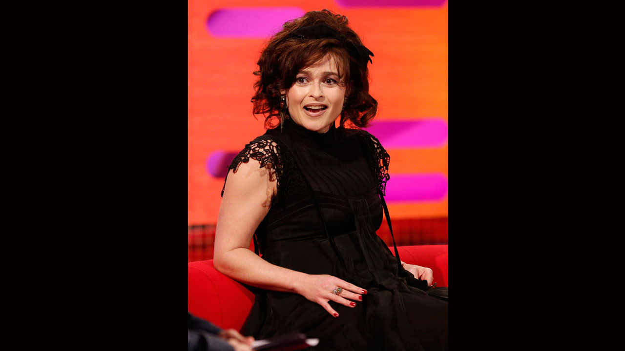 Oscar-winning actress Helena Bonham Carter, looking divine as always.
