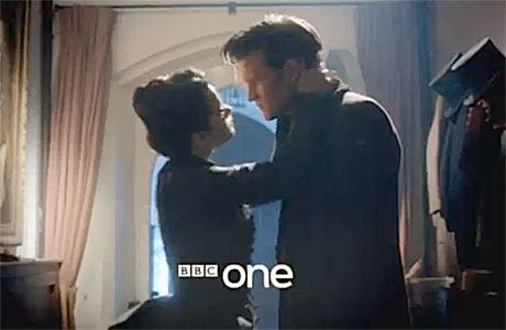 Doctor Who kiss