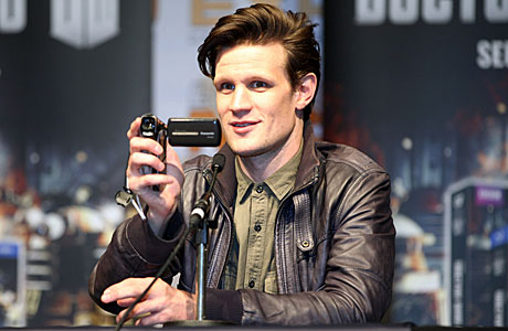 Matt Smith at London Comic-Con 2012