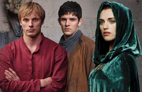 Arthur, Merlin and Morgana