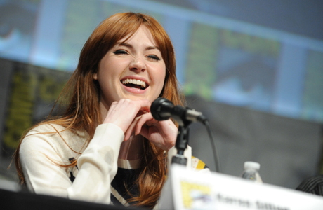Karen Gillan: We said farewell to Amy Pond on 'Doctor Who,' but Karen Gillan shows no signs of disappearing. She quickly scored several post-'Who' film roles and became a dazzling presence on the talk show circuit. This sexy Scottish ginger has legs. (Photo by Jordan Strauss/Invision/AP)