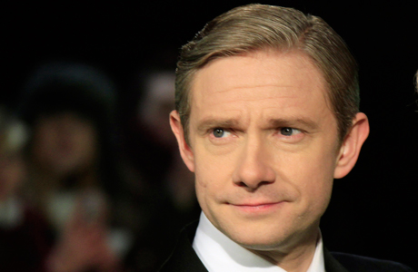 Martin Freeman: The face of our dear Watson was splashed over billboards around the world as Bilbo Baggins in the already record-breaking first film of the 'Hobbit' series. Few actors deserve mainstream exposure as much. (Photo by Joel Ryan/Invision/AP)