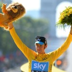 Bradley Wiggins: the 32-year-old cyclist became the rare champion to be proud of in a time when his sport has been widely disgraced. Wiggins triumphed at this year's Tour de France, becoming the race's first British winner ever, and followed that victory up with Olympic gold. A knighthood awaits. (AP Photo/Jerome Prevost, Pool, File)
