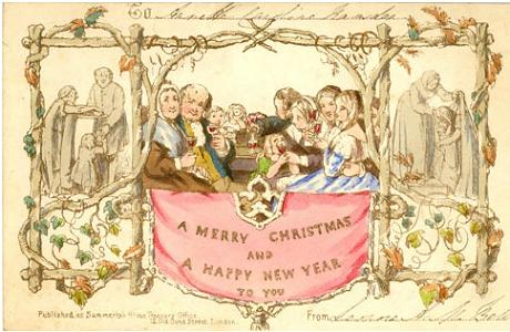 merry christmas and happy new year we say this all the time but where did it come from where all great things come from england of course - Merry Christmas In Gaelic