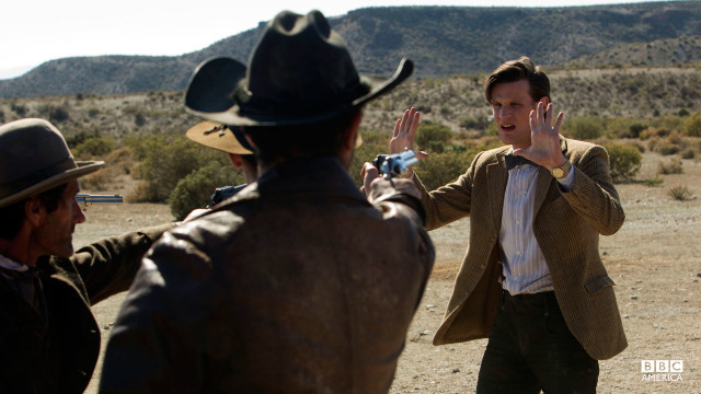 """Don't you see? Violence doesn't end violence. It extends it"". - The Doctor (""A Town Called Mercy"")"
