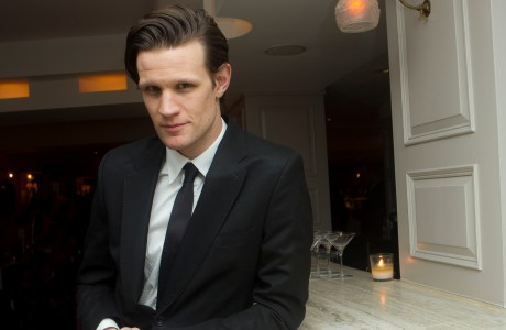 Matt Smith: The now 30-year-old 'Doctor Who' actor cemented his status as a star of his generation, his face and iconic bowtie appearing on the front covers of both Entertainment Weekly and TV Guide Magazine. (Photo by Joel Ryan/Invision/AP)