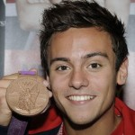 Tom Daley: The 18-year-old, oft-shirtless pinup proved he's more than just a Pepsodent smile and a relief map of abs: he became the pride of England with a surprise bronze medal in individual men's diving at the London Olympics. (Rex Features via AP Images)