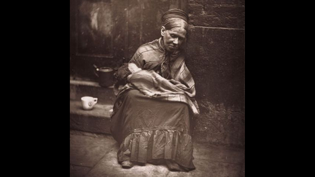 A woman of Whitechapel.